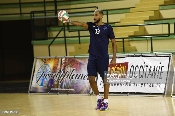 Daryl Bultor of Montpellier during the Volleyball friendly match on September 22 2017 in Montpellier France