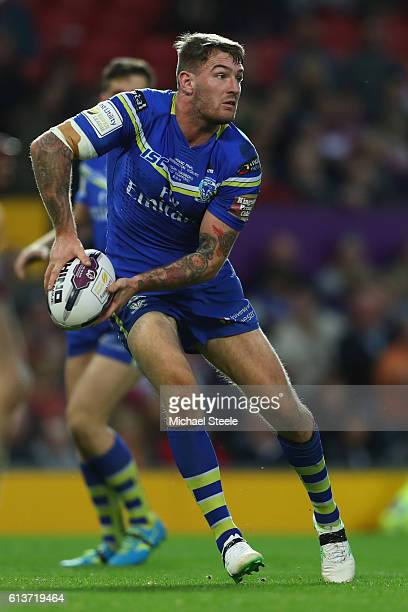 Daryl Clark of Warrington during the First Utility Super League Final between Warrington Wolves and Wigan Warriors at Old Trafford on October 8 2016...