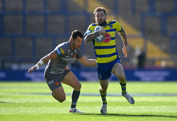 GBR: Catalans Dragons v Warrington Wolves - Betfred Challenge Cup