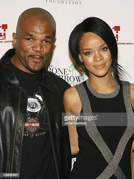 """Daryl """"DMC"""" McDaniels with Rihanna during """"Links For Life"""" Gala to benefit DKMS and The Bone Marrow Foundation with special performance by Rihanna at..."""
