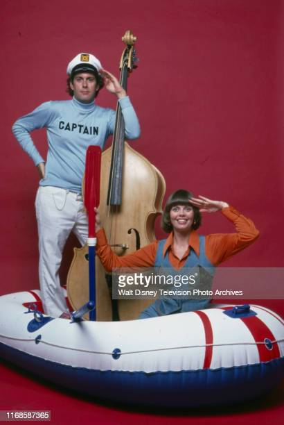 Daryl Dragon, Toni Tennille, The Captain and Tennille promotional photo for the ABC tv series 'The Captain and Tennille'.