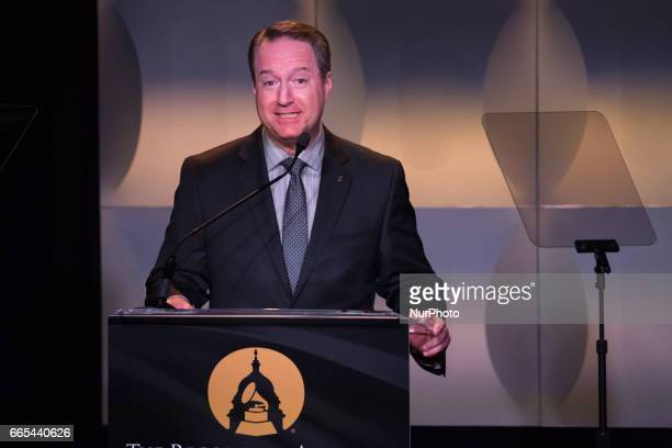 Daryl Friedman Chief Advocacy amp Industry Relations Officer The Recording Academy speaks at the Grammys on the Hill Awards at The Hamilton LIVE...