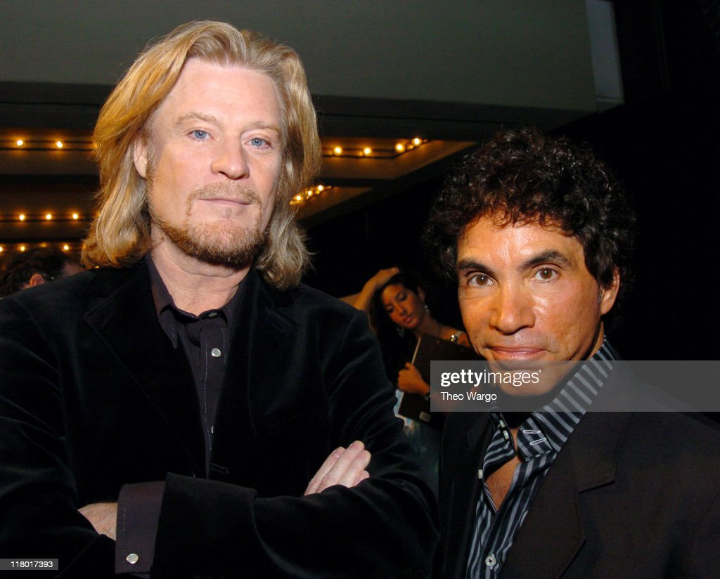 Daryl Hall and John Oates during 35th Annual Songwriters Hall of Fame Awards Induction - Arrivals at Mariott Marquis Hotel in New York City, New York, United States.