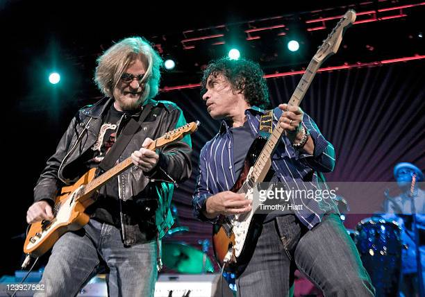 Daryl Hall and John Oates perform at the 2011 Bumbershoot Festival on September 5 2011 in Seattle Washington