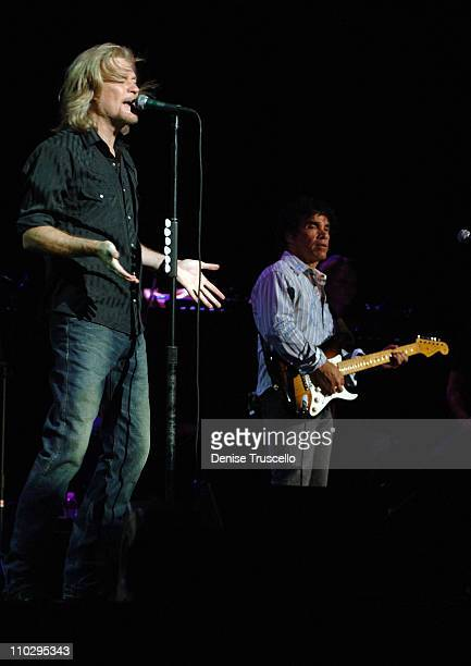 Daryl Hall and John Oates performs at the Soles 4 Souls Benefit Concert at The Orleans Arena on July 30 2007 in Las Vegas Nevada