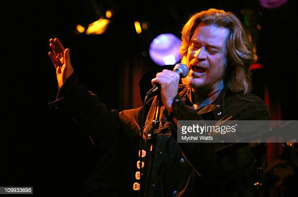 Daryl Hall during Daryl Hall Performs Live at BB Kings at BB Kings Times Square in New York City New York United States