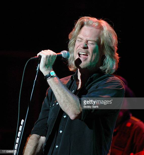 Daryl Hall during Hall Oates In Concert at State Theatre New Brunswick New Jersey September 5 2006 at In Concert Hall Oates in New Brunswick New...