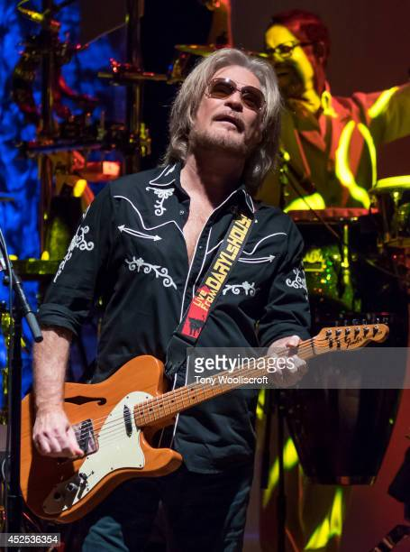 Daryl Hall of Hall Oates performs at Birmingham Symphony Hall on July 22 2014 in Birmingham England