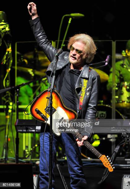 Daryl Hall of Hall Oates performs at Golden 1 Center on July 23 2017 in Sacramento California