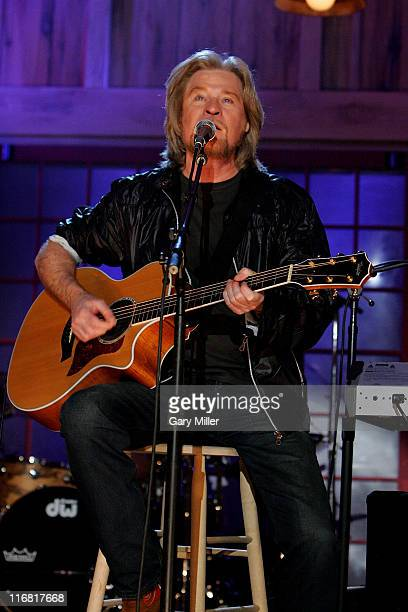Daryl Hall performs at South By Southwest Music Festival at the Direct TV soundstage on March 12 2008 in Austin Texas
