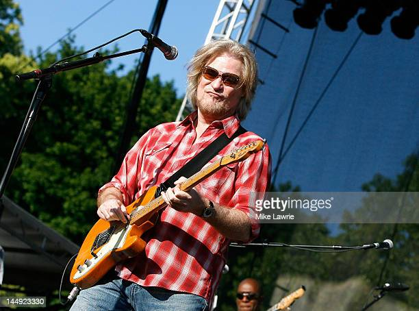 Daryl Hall performs at the Great Googa Mooga 2012 at Prospect Park on May 20 2012 in the Brooklyn borough of New York City