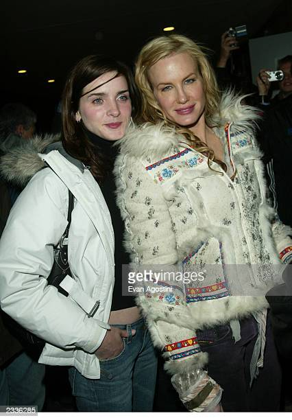Daryl Hannah and Michele Hicks arriving at the Northfork screening during the 2003 Sundance Film Festival in Park City Utah January 21 2003 Photo by...