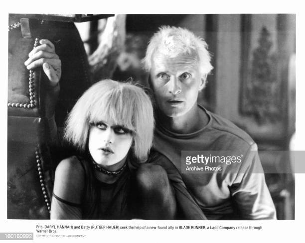 Daryl Hannah and Rutger Hauer in a scene from the film 'Blade Runner' 1982
