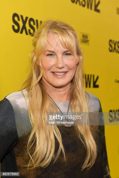 Daryl Hannah attends the Paradox Premiere 2018 SXSW Conference and Festivals at Paramount Theatre on March 15 2018 in Austin Texas