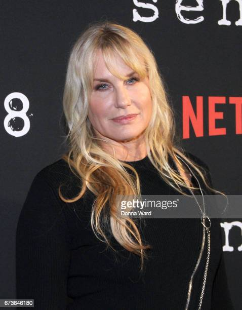 Daryl Hannah attends the Sense8 New York Premiere at AMC Lincoln Square Theater on April 26 2017 in New York City