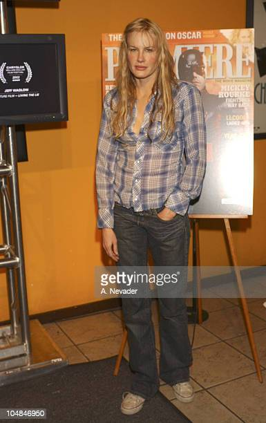 Daryl Hannah during 2003 Park City Premiere Magazine Party in Park City Utah United States