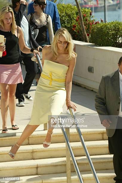 Daryl Hannah during 2004 Cannes Film Festival Kill Bill Vol 2 Photocall at Palais Du Festival in Cannes France