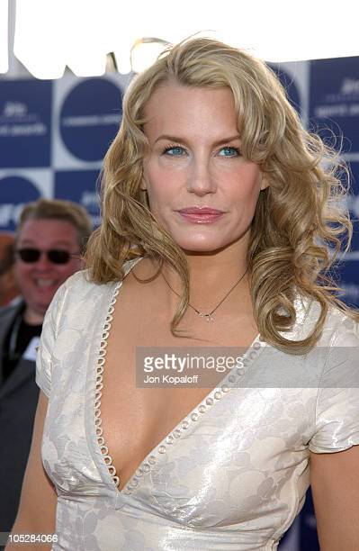 Daryl Hannah during 2004 Independent Spirit Awards Arrivals at Santa Monica Pier in Santa Monica California United States