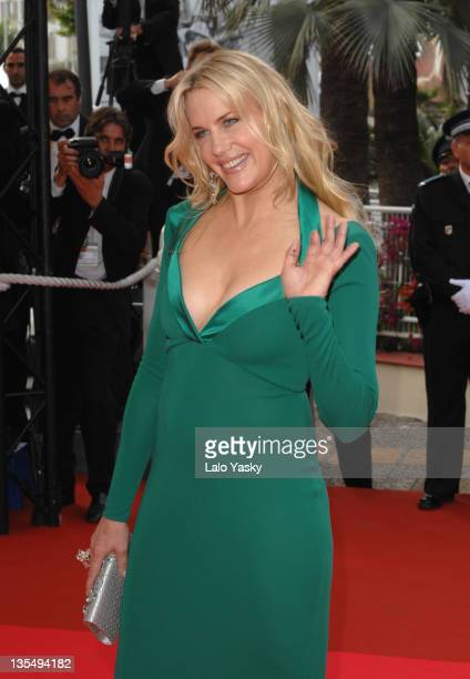 Daryl Hannah during 2007 Cannes Film Festival No Country for Old Men Premiere at Palais des Festival in Cannes France
