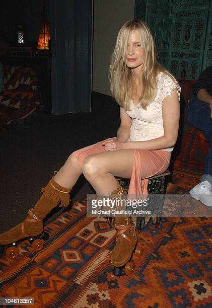 Daryl Hannah during 4 Wheelers By Skechers Party at The Hollywood Palladium in Hollywood California United States