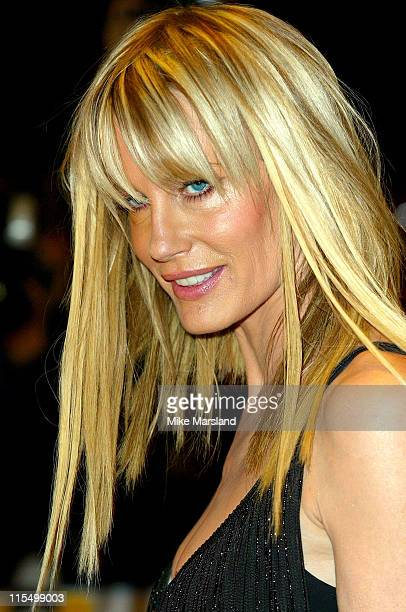 Daryl Hannah during 'Kill Bill Vol 1' London Premiere Arrivals at The Odeon Leicester Square in London Great Britain