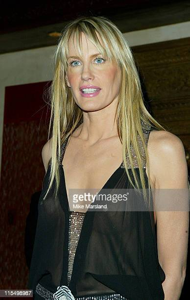 Daryl Hannah during Kill Bill Vol 1 Photocall London October 2 2003 at Dorchester Hotel in London United Kingdom