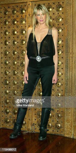 Daryl Hannah during 'Kill Bill Vol 1' Photocall London October 2 2003 at Dorchester Hotel in London United Kingdom