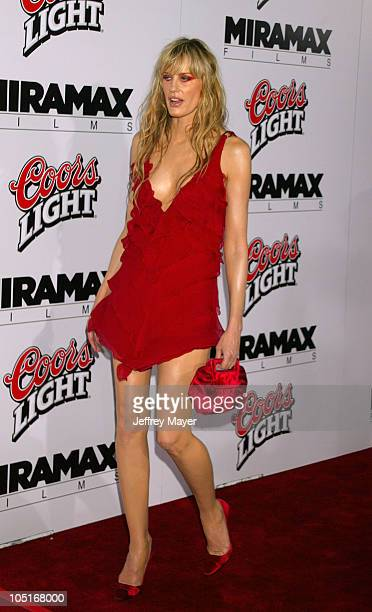 Daryl Hannah during Kill Bill Vol 1 Premiere Arrivals at Grauman's Chinese Theatre in Hollywood California United States
