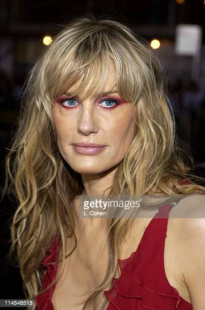 Daryl Hannah during Kill Bill Vol 1 Premiere Red Carpet at Grauman's Chinese Theater in Hollywood California United States