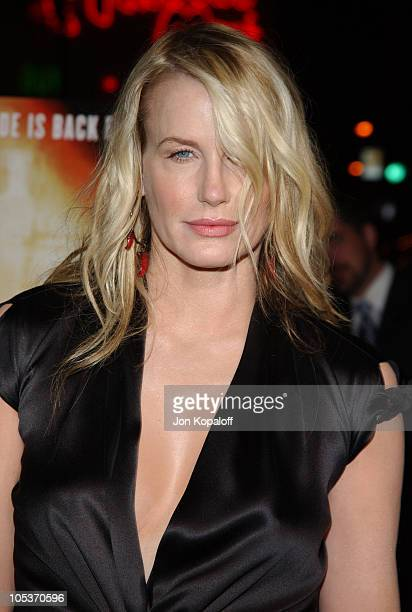 Daryl Hannah during Kill Bill Vol 2 World Premiere Red Carpet at Arclight Cinerama Dome in Los Angeles California United States