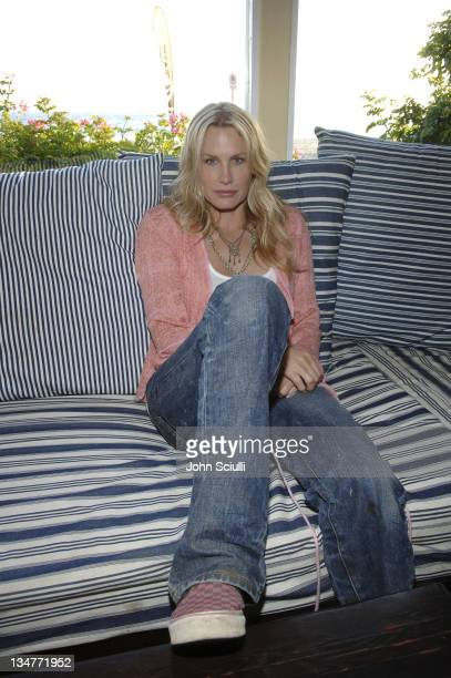 Daryl Hannah during Quiksilver and Roxy Crossing Party at Sunset Room in Malibu CA United States