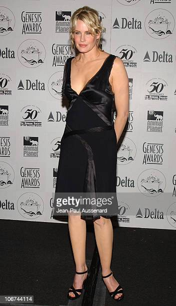 Daryl Hannah during The 18th Annual Genesis Awards and 50th Anniversary of the Humane Society of the United States Pressroom at Beverly Hilton in...