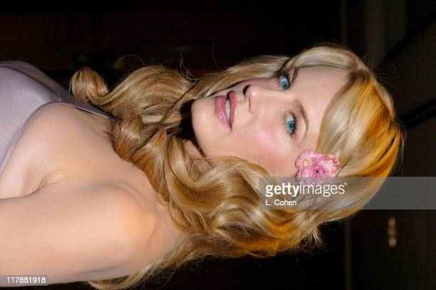 Daryl Hannah during Time To Give Gala Benefiting The Afghanistan World Foundation Inside and Show at St Regis Hotel in Los Angeles California United...