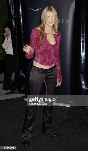 Daryl Hannah during Vertu Client Suite Opening at Vertu in Beverly Hills, California, United States.