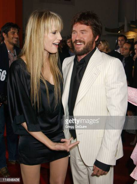 Daryl Hannah Val Kilmer during 'Wonderland' Premiere hosted by DETAILS GUESS Arrivals at Grauman's Chinese Theatre in Hollywood California United...