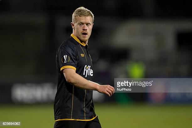 Daryl Horgan of Dundalk pictured during the UEFA Europa League Group D match between Dundalk FC and AZ Alkmaar at Tallaght Stadium in Dublin Ireland...