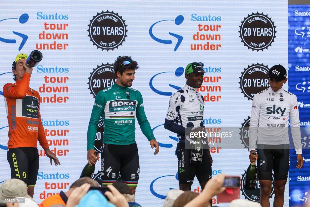 Sport: Santos Tour Down Under Stage 6. : News Photo