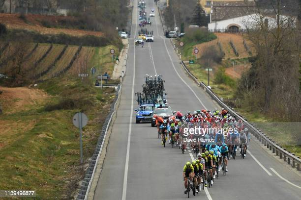 Daryl Impey of South Africa and Team Mitchelton - Scott / Johan Esteban Chaves Rubio of Colombia and Team Mitchelton - Scott / Simon Yates of United...