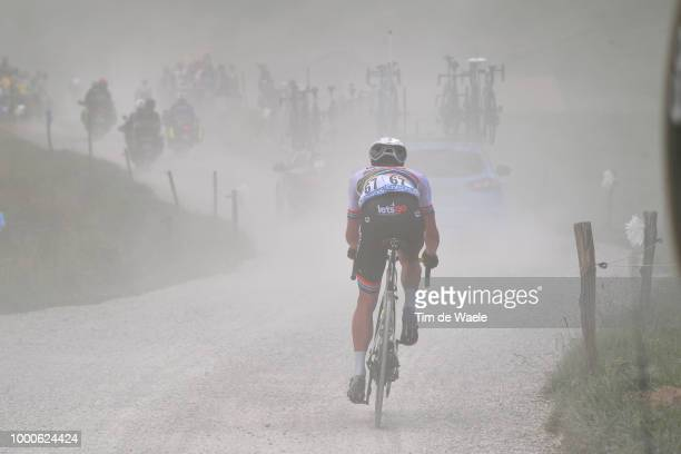 Daryl Impey of South Africa and Team MitcheltonScott / Col Des Glières / Dust / during the 105th Tour de France 2018 / Stage 10 a 1585km stage from...