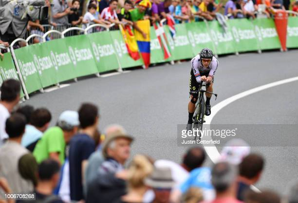 Daryl Impey of South Africa and Team Mitchelton-Scott / during the 105th Tour de France 2018, Stage 20 a 31km Individual Time Trial stage from...