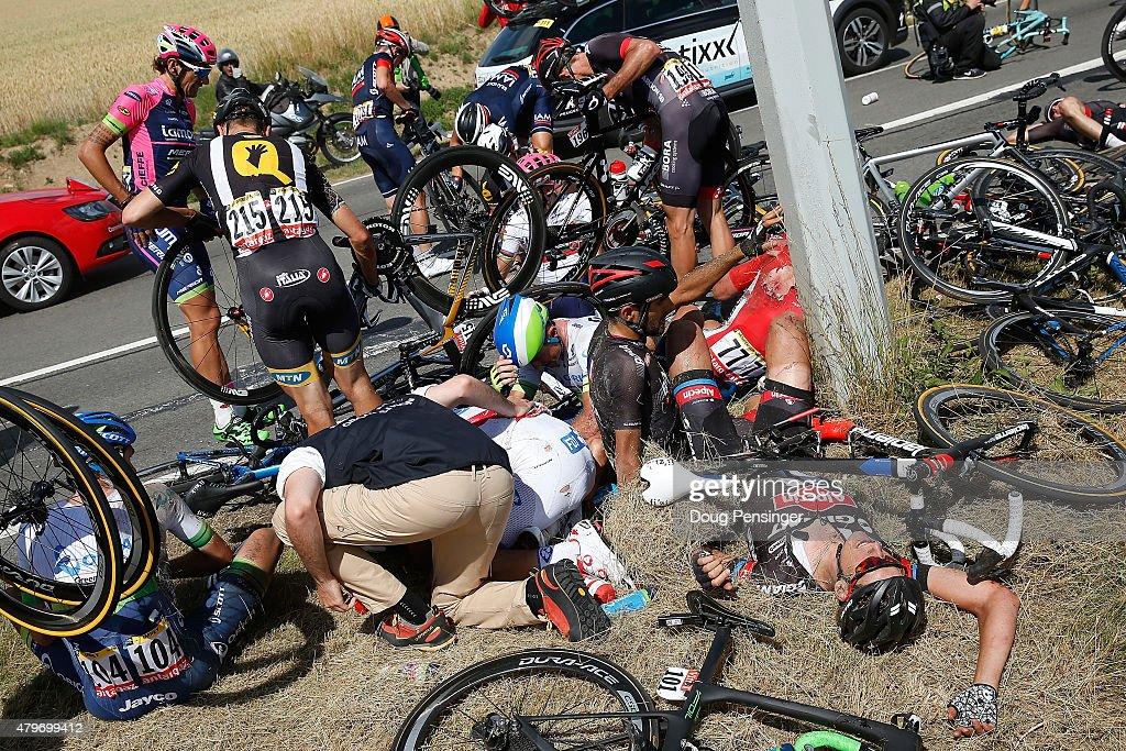 Le Tour de France 2015 - Stage Three : News Photo
