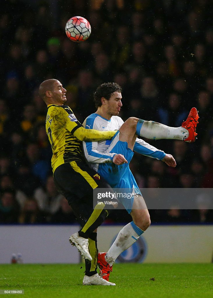 Watford v Newcastle United - The Emirates FA Cup Third Round