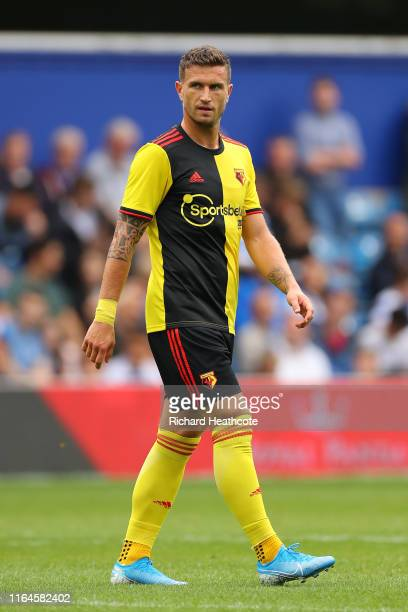 Daryl Janmaat of Watford in action during the PreSeason Friendly match between QPR and Watford at The Kiyan Prince Foundation Stadium on July 27 2019...