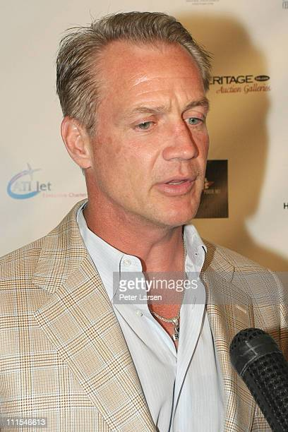Daryl Johnston attends the Emmitt Smith's Suite 22 at the 2010 Emmitt Smith Celebrity Invitational at TPC Craig Ranch on May 14 2010 in McKinney Texas