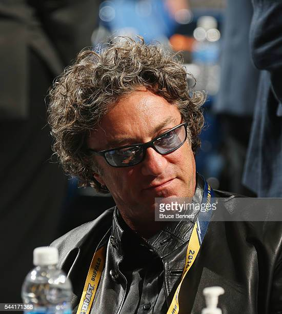 Daryl Katz of the Edmonton Oilers attends round one of the 2016 NHL Draft on June 24 2016 in Buffalo New York