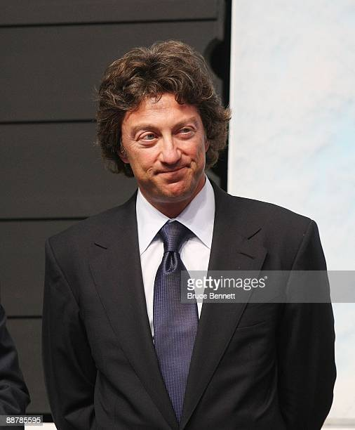 Daryl Katz of the Edmonton Oilers photographed during the first round of the 2009 NHL Entry Draft at the Bell Centre on June 26 2009 in Montreal...