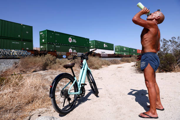 USA: Extreme Heat Settles Over California