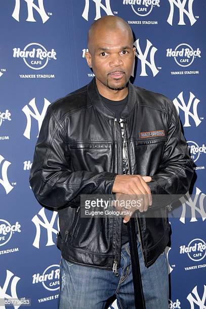 Daryl McDaniels attends the opening of the Hard Rock Cafe Yankee Stadium on April 2, 2009 in Bronx, New York.