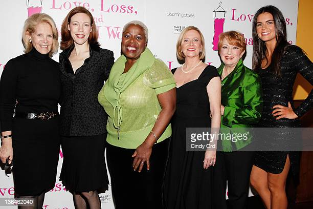 Daryl Roth Veanne Cox Lillias White Eve Plum Nancy Dussault and Katie Lee attend the Love Loss And What I Wore new cast member celebration at B...