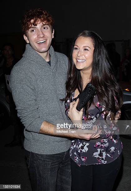 Daryl Sabara and Alexa Vega arrive at OP celebrates Fall/Holiday 2011 campaign 'Winter Wonderland' event held at Siren Studios on November 16 2011 in...